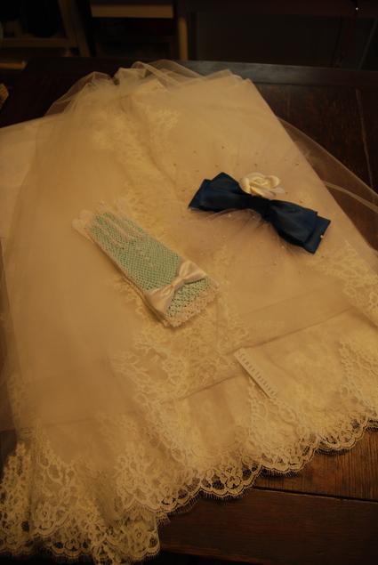wedding・ベール&ヘッドドレス&手袋_d0127925_9381464.jpg