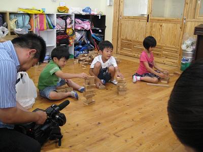 飫肥杉で子ども達キラキラ_f0138874_18272057.jpg