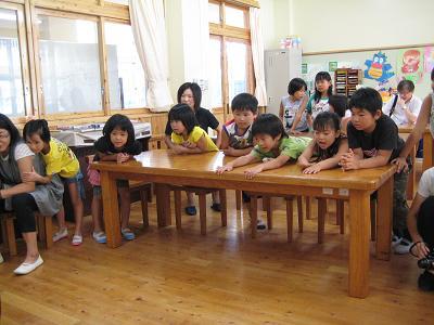 飫肥杉で子ども達キラキラ_f0138874_18275659.jpg