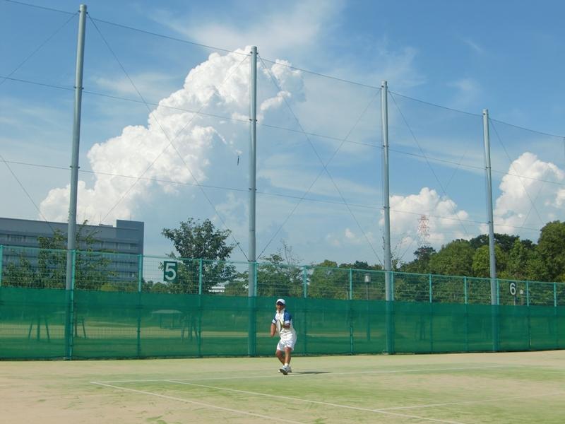 ■ 真夏のテニス_f0238779_820443.jpg