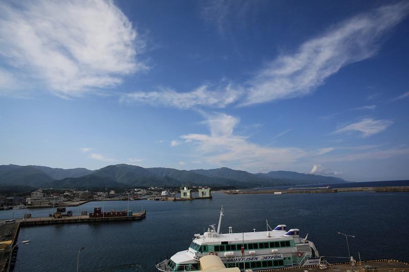佐渡港から2時間半 1等船室でぐっすり_a0160581_7194069.jpg