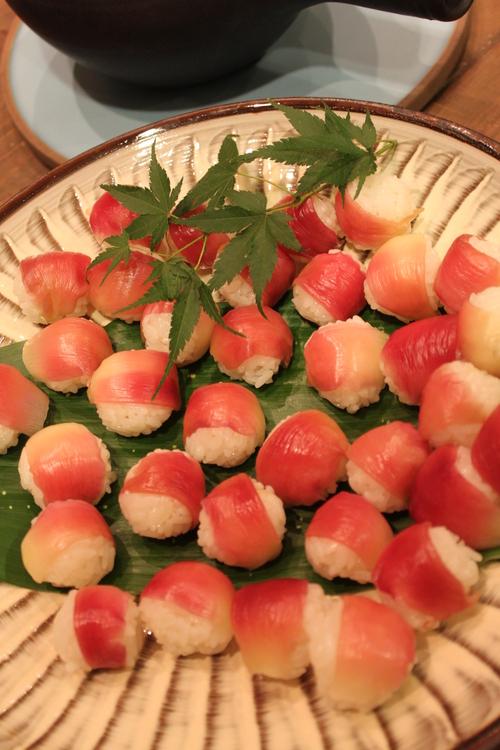 桃豚の会 第1回  桃豚&桃&夏野菜  !_c0170194_4203345.jpg