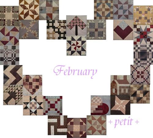 バースデーキルト All patterns*February*_a0122205_15553931.jpg