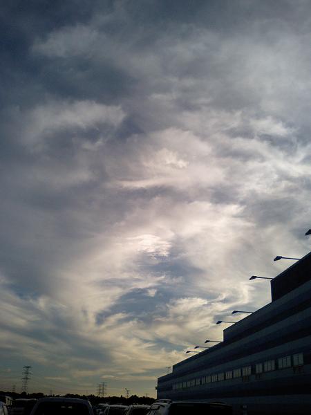猛暑。時々、秋の空 #1_f0155808_7165840.jpg