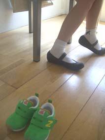 ニューバランスとLANVINの靴_a0166313_16175492.jpg