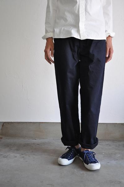 RINEN チノパンツ/Navy Chino Pants