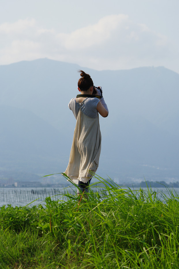 琵琶湖畔で..._f0152550_21243243.jpg