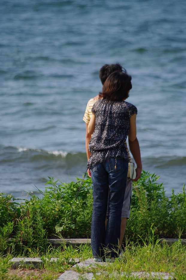 琵琶湖畔で..._f0152550_21261179.jpg