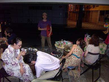 """2010 真夏 「Wrap」 """"マジすか屋台"""" まんつやってみるべし!  第二弾 6日(金) 編_c0177259_21415291.jpg"""