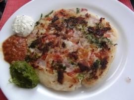 インド通信6 北と南で主食が異なるインド料理_a0138976_22572989.jpg