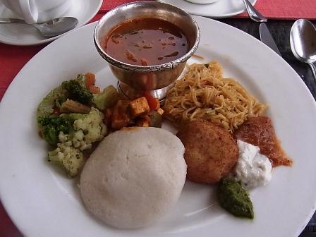インド通信6 北と南で主食が異なるインド料理_a0138976_2301888.jpg