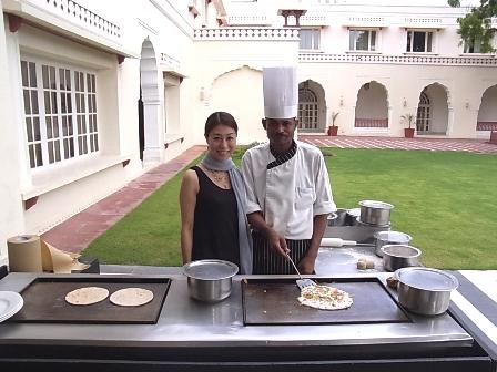 インド通信6 北と南で主食が異なるインド料理_a0138976_2331680.jpg