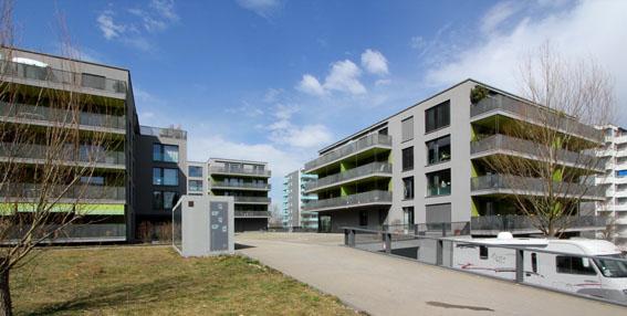ミネルギハウスP:チューリッヒの4・5階建て木造集合住宅 1_e0054299_16465795.jpg