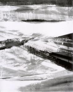 2010/10/6-11 福田佳明展 【抽象的水墨画】_e0091712_6463480.jpg