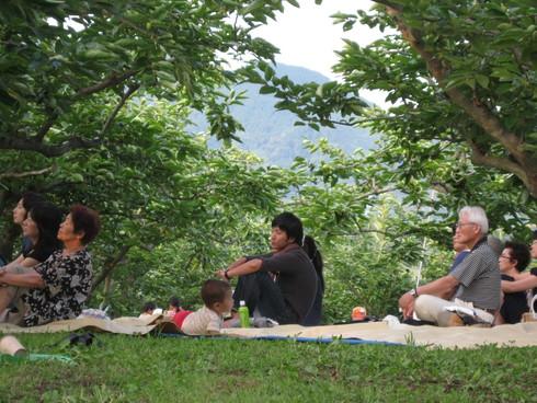 「柿農園」にて~_a0125419_9395186.jpg