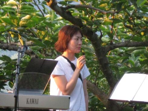 「柿農園」にて~_a0125419_9405363.jpg