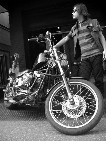 前田 悠介 & Harley-Davidson FLH(2010 0724)_f0203027_7134596.jpg