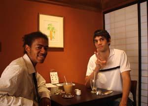フランス・ナント市の交換留学生アカ・リオネルさんとサムエル・ビトさんがやってきました。_d0178448_14154865.jpg