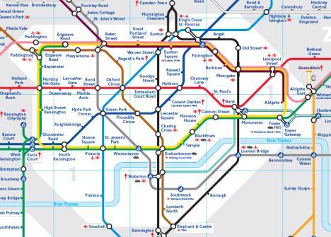 この地下鉄マップだって、イギリスを追って発達していった諸外国の地下鉄マッ... 人生という旅路に