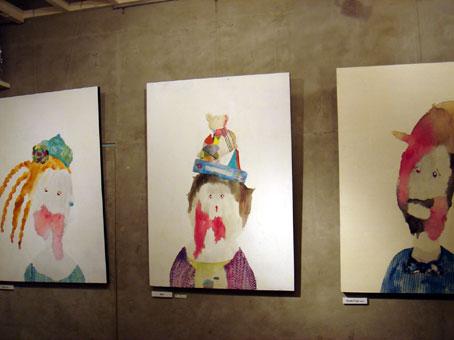 ナガモトマイ初個展 「ヌーのいた道~青空の下のゾンビのむら~」展_f0010033_2251731.jpg