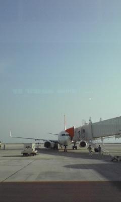 飛行機、正面から撮れるなんてめったにないからね、やっぱ撮っちゃうよね☆_c0069859_1632491.jpg