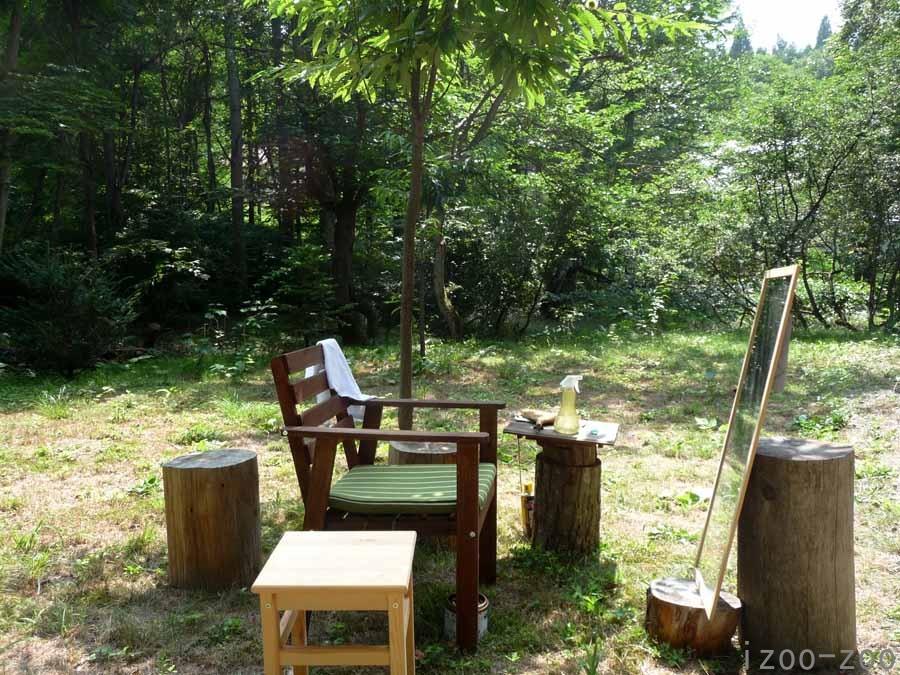 森の散髪屋さん_c0223095_155631.jpg