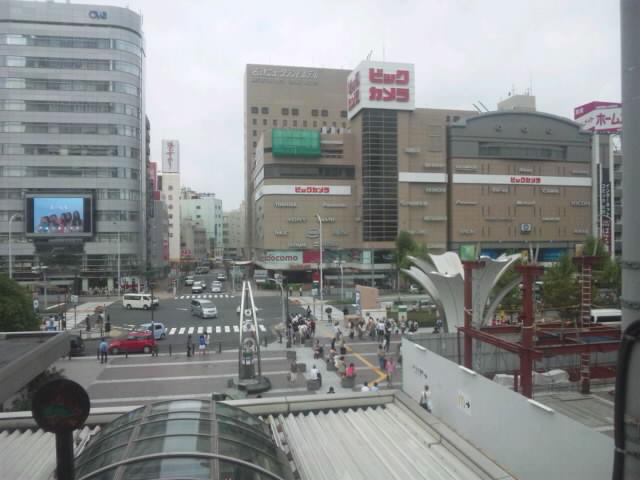 新幹線の車中から撮った名古屋駅前_d0027795_8164993.jpg