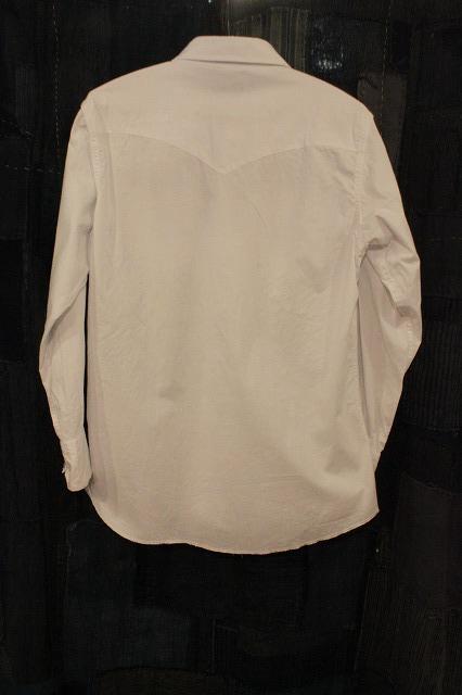 白いウエスタンシャツ_d0121303_14164864.jpg