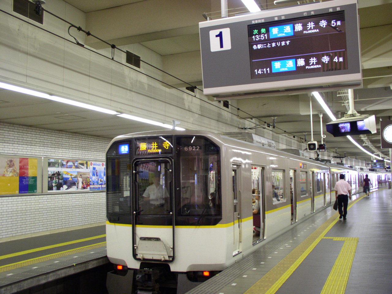 近鉄南大阪線のシリーズ21 : 交野が原道草