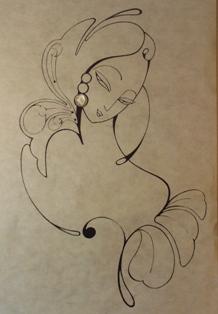 2010/11/10-15 近藤慶子作品展<Desert Moon/沙漠の月>vol.2  【鏡・平面・立体】_e0091712_2373778.jpg