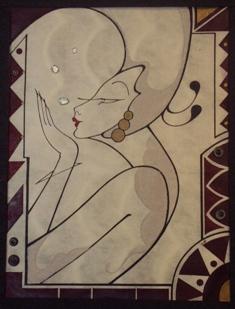 2010/11/10-15 近藤慶子作品展<Desert Moon/沙漠の月>vol.2  【鏡・平面・立体】_e0091712_2383726.jpg