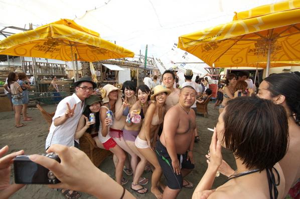 チョコビーチ2010 写真 by 鈴木氏 ー夕方ー_a0083921_1813270.jpg