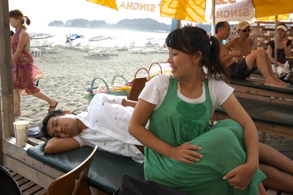 チョコビーチ2010 写真 by 鈴木氏 ー夕方ー_a0083921_18152742.jpg