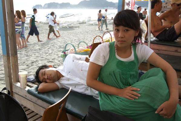 チョコビーチ2010 写真 by 鈴木氏 ー夕方ー_a0083921_1815550.jpg