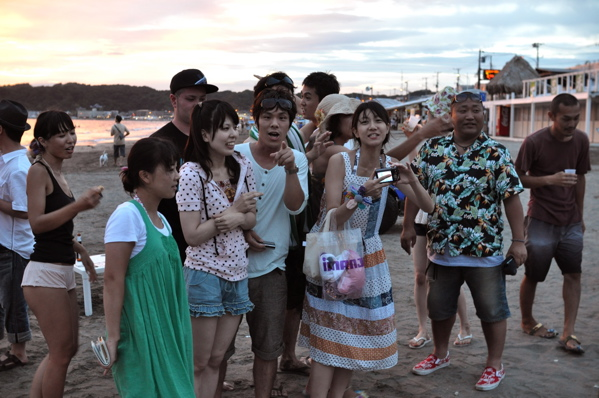 チョコビーチ2010 写真 by 鈴木氏 ー夕方ー_a0083921_18163192.jpg
