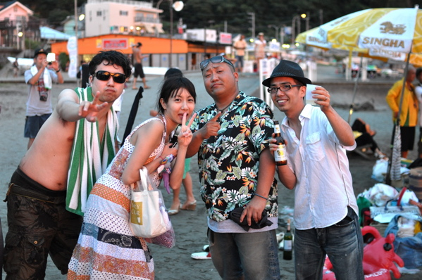 チョコビーチ2010 写真 by 鈴木氏 ー夕方ー_a0083921_18165388.jpg