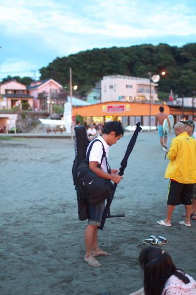 チョコビーチ2010 写真 by 鈴木氏 ー夕方ー_a0083921_1818136.jpg