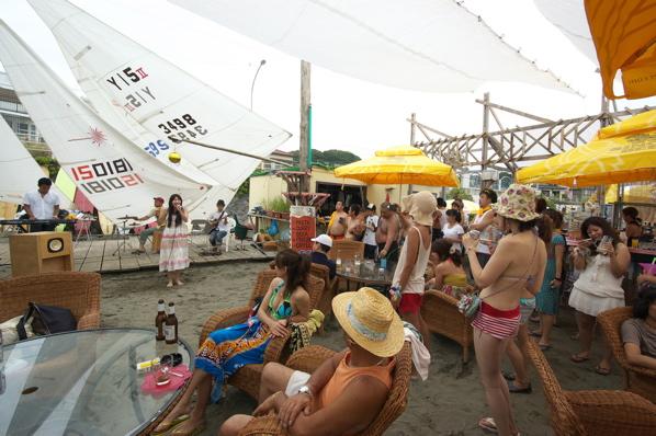 チョコビーチ2010 写真 by 鈴木氏 ーラブマライブとfeat.インサイドランナーズー_a0083921_19265747.jpg