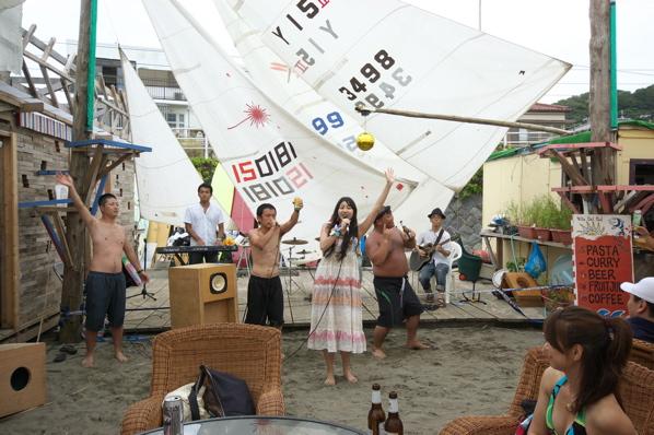 チョコビーチ2010 写真 by 鈴木氏 ーラブマライブとfeat.インサイドランナーズー_a0083921_1928796.jpg