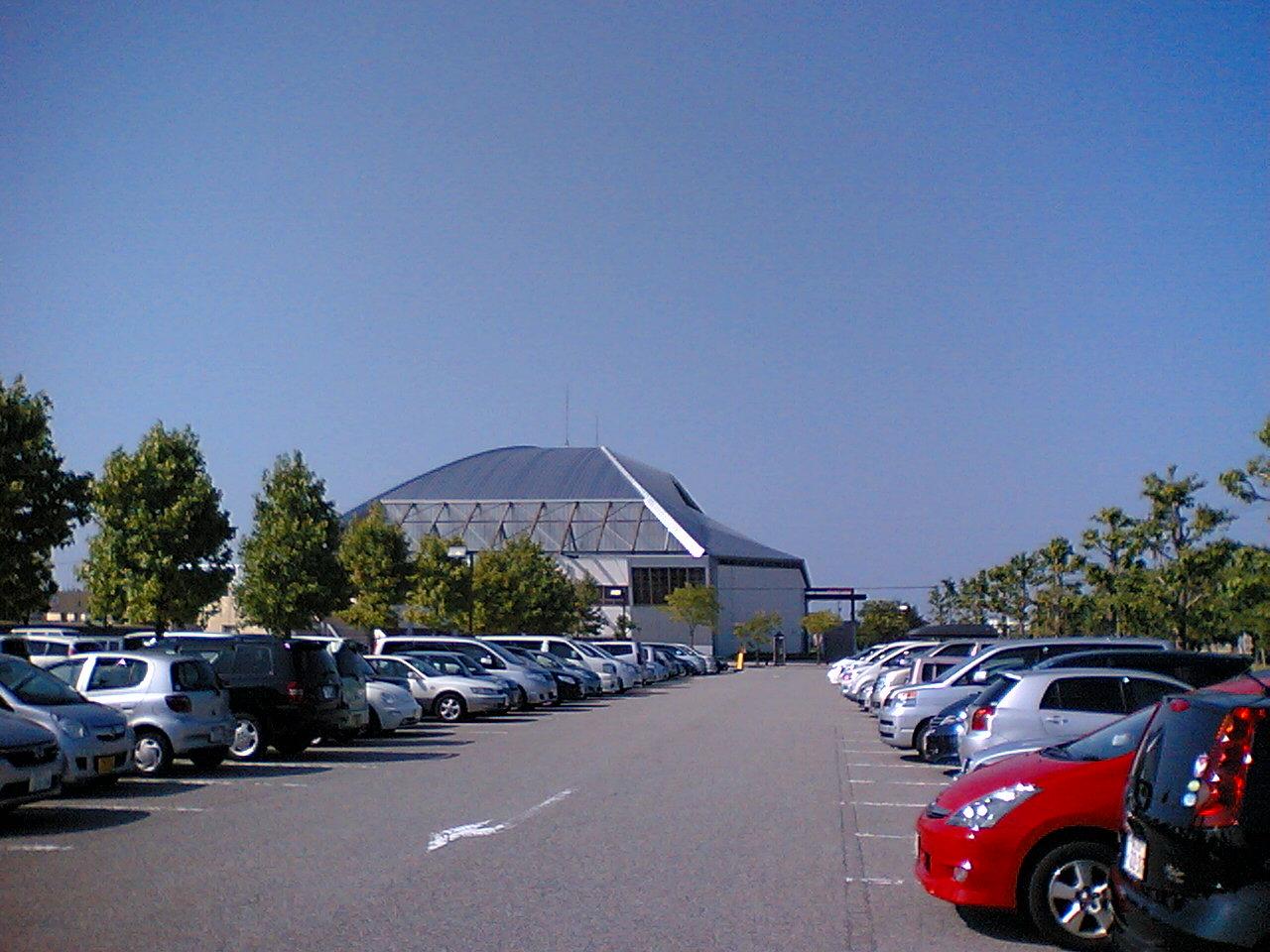 黒部市総合運動公園 : 富山うろうろ日記