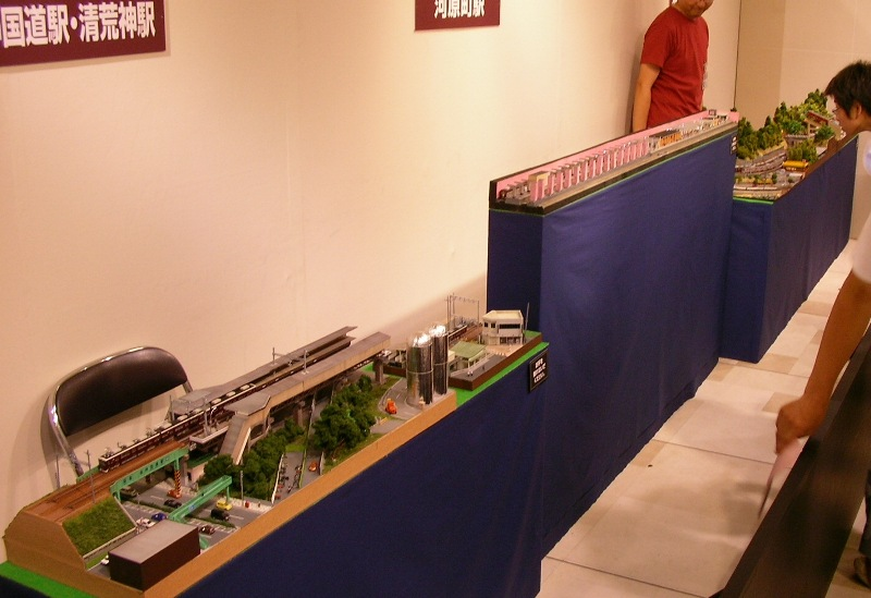 阪急百貨店 鉄道模型フェスティバル 2010 その2 _a0066027_2247177.jpg