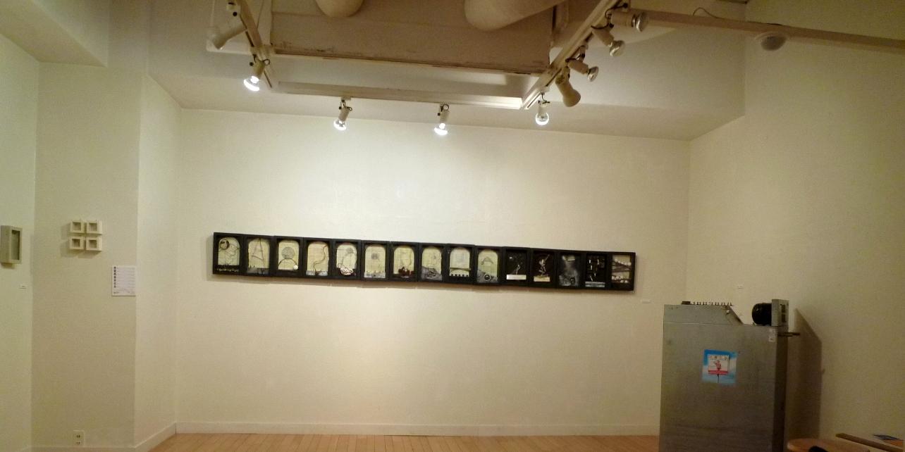 1349) たぴお 「EXBITION of BOX ART 4 (ボックス・アート展)」 8月23日(月)~8月28日(土)_f0126829_14215671.jpg