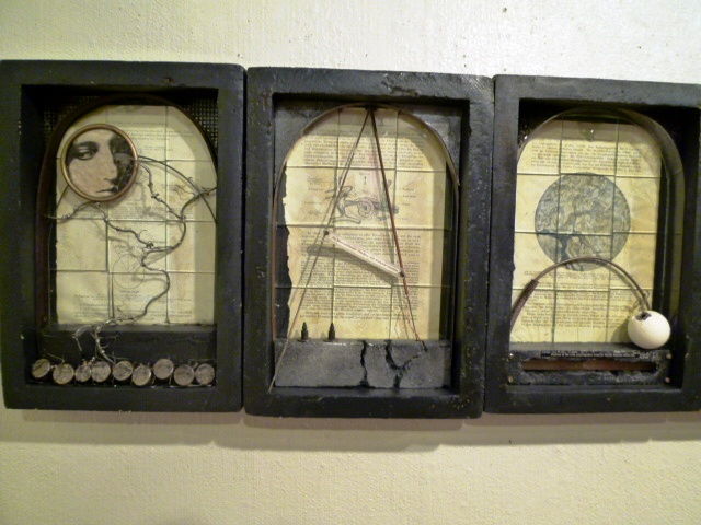 1349) たぴお 「EXBITION of BOX ART 4 (ボックス・アート展)」 8月23日(月)~8月28日(土)_f0126829_1501581.jpg