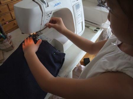 娘が初めて作った本格的トートバッグ♪_f0023333_751785.jpg
