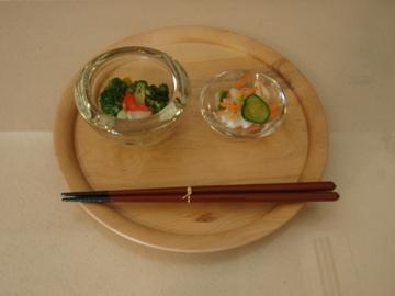 松岡洋二さんのガラス皿 など_b0132442_1735792.jpg