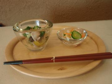 松岡洋二さんのガラス皿 など_b0132442_174974.jpg