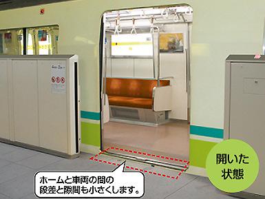 可動式ホーム柵の設置を始めた大阪市交通局_c0167961_2156255.jpg