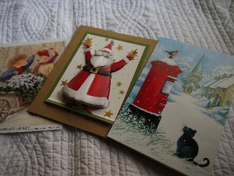 涼しいカード♪ クリスマスはすぐ来ます☆_e0086864_2254289.jpg