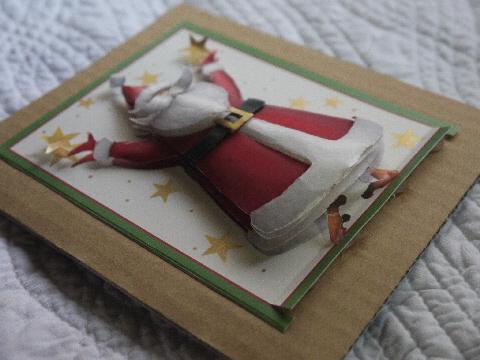 涼しいカード♪ クリスマスはすぐ来ます☆_e0086864_22552392.jpg