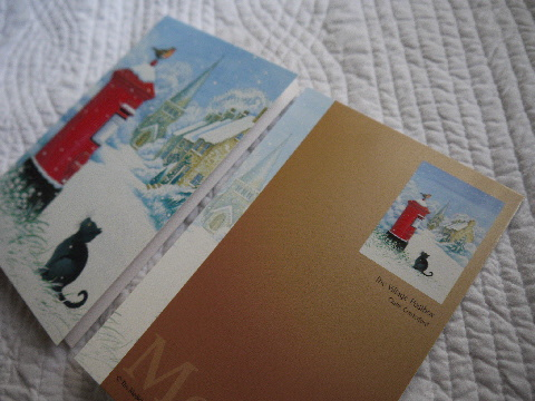 涼しいカード♪ クリスマスはすぐ来ます☆_e0086864_22553086.jpg